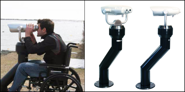 Hi-Spy Viewing Machines - Wheelchair Accessible (ADA) Viewer