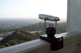 griffith observatory wallmount viewer